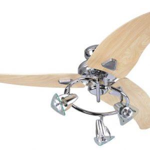 Scorpion, stropný ventilátor, chróm
