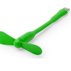 OMEGA USB VENTILÁTOR 3,5″ OUFUG 43478, ZELENÁ