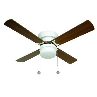 """BEACON LUCCI AIR NORDIC 512106 42"""" biela/svetlý buk/tmavý buk Reverzný stropný ventilátor"""