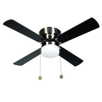 """BEACON LUCCI AIR NORDIC 512108 42"""" mosadz/teak/tmavé drevo Reverzný stropný ventilátor"""