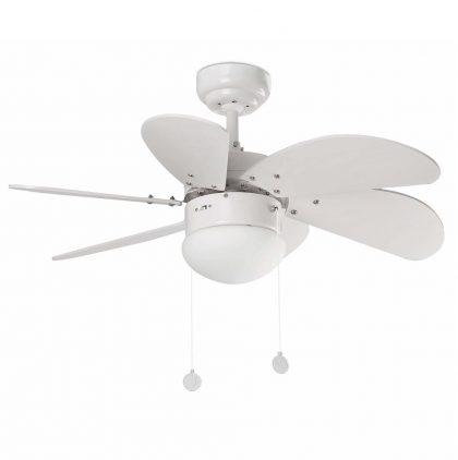 """FARO PALAO 33180 31,8"""" biela/biela Reverzný stropný ventilátor"""