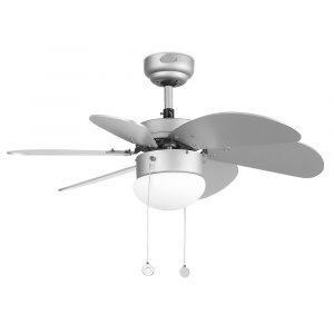 """FARO PALAO 33186 31,8"""" šedá/šedá Reverzný stropný ventilátor"""