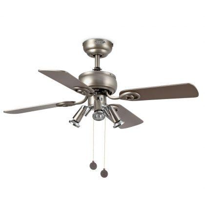 """FARO GALAPAGO 33301 35,8"""" šedá/šedá/javor Reverzný stropný ventilátor"""