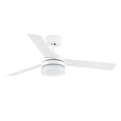 """FARO ICE LED 33459 52"""" biela/biela/javor Reverzný stropný ventilátor"""