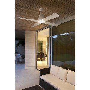 """FARO TYPHOON 33480 51,8"""" biela/biela Reverzný stropný ventilátor"""