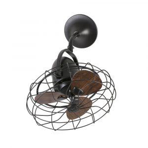 """FARO KEIKI 33715 16,9"""" hnedá/hnedá Reverzný stropný ventilátor"""