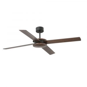 """FARO POLEA 33724 52"""" hnedá/hnedá/čierna Reverzný stropný ventilátor"""
